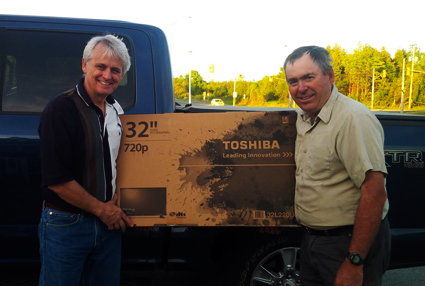 WINNER of Execucor's Truck World TV Draw: Glenn Imrie of G. Imrie & Sons
